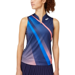 Top de Tenis Mujer Asics Match Graphic Top  Peacoat 2042A190400