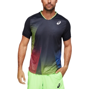 Camisetas de Tenis Hombre Asics Match Camiseta  Performance Black 2041A170001
