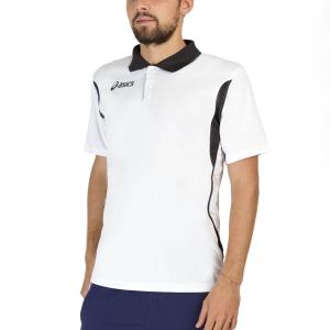 Polo Tenis Hombre Asics Smash Polo  White/Black T257Z7.0190