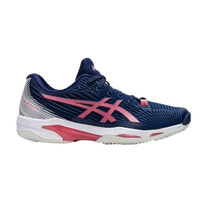 Scarpe Tennis Donna Asics Solution Speed FF 2 Clay  Peacoat/Smokey Rose 1042A134402