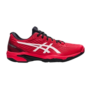 Men`s Tennis Shoes Asics Solution Speed FF 2 Clay  Electric Red/White 1041A187601