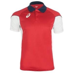 Polo Tennis Uomo Asics Vole Polo  Red/White T267Z7.2601