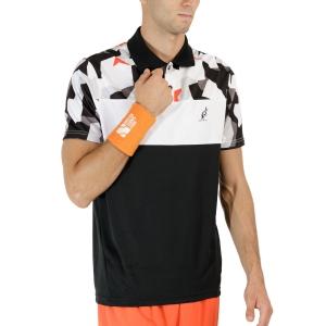Polo Tenis Hombre Australian Ace Camo Polo  Nero TEUPO0006003