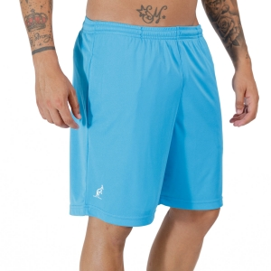Pantalones Cortos Tenis Hombre Australian Ace Logo Classic 8in Shorts  Turchese Glossy TEUSH0005605