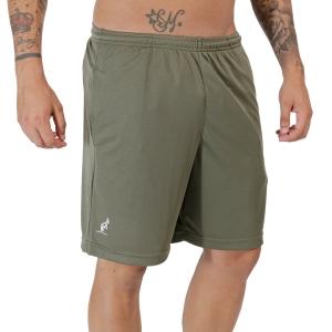 Pantalones Cortos Tenis Hombre Australian Ace Logo Classic 8in Shorts  Verde Aneto TEUSH0005104