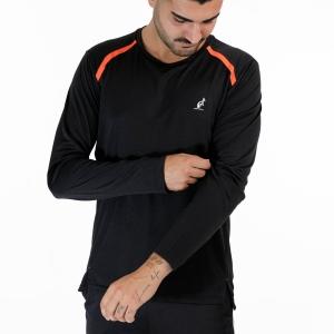 Men's Tennis Shirts and Hoodies Australian Ace Logo Shirt  Nero TEUTS0035003