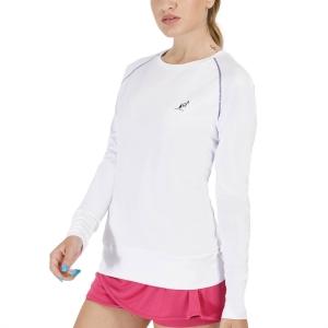 Women's Tennis Shirts and Hoodies Australian Ace Shirt  Bianco TEDTS0019002
