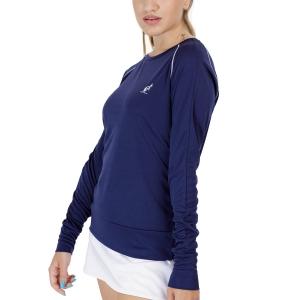 Women's Tennis Shirts and Hoodies Australian Ace Shirt  Blu Cosmo TEDTS0019842