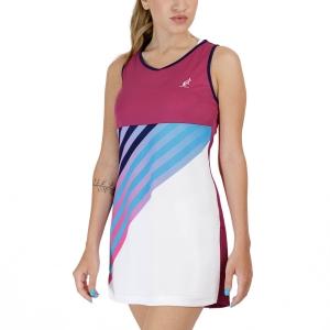 Vestito da Tennis Australian Ace Print Vestito  Magenta TEDAB0003414
