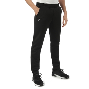 Men's Tennis Pants and Tights Australian Big Logo Tech Pants  Nero/Orange TEUPA0001003A