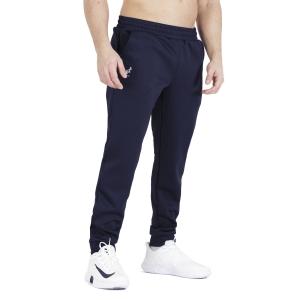 Men's Tennis Pants and Tights Australian Big Logo Tech Pants  Blu Cosmo TEUPA0001842