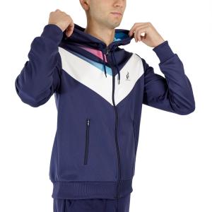 Men's Tennis Jackets Australian Lines Jacket  Blu Cosmo TEUGC0004842
