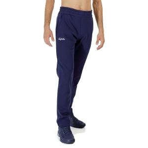 Men's Tennis Pants and Tights Australian Classic Logo Pants  Blu Cosmo LSUPA0008842A