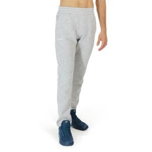 Men's Tennis Pants and Tights Australian Classic Logo Pants  Grigio Melange LSUPA0008101A