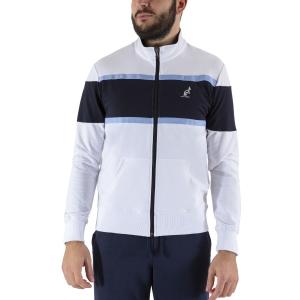 Camisetas y Sudaderas Hombre Australian Color Block Sudadera  White/Navy LSUGC0008002