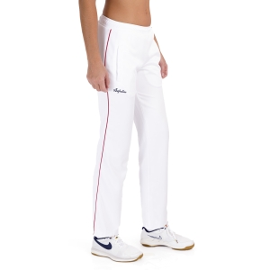 Women's Tennis Pants and Tights Australian Double Pants  Bianco TEDPA0004002