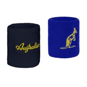 Tennis Wristbands Australian H8 Small Wristbands  Fiordaliso/Blu Navy TEXPS0007600200