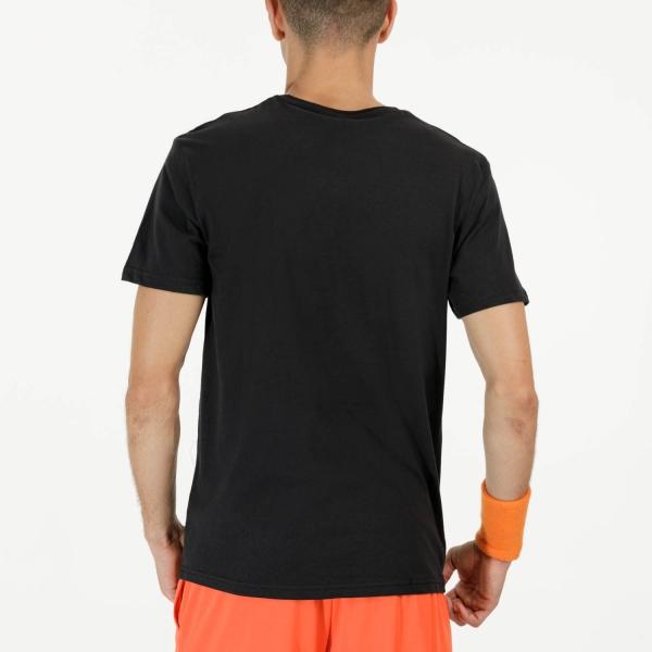 Australian Lines Graphic Logo T-Shirt - Nero