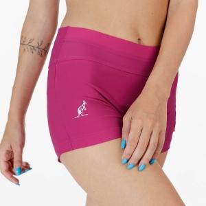 Gonne e Pantaloncini Tennis Australian Logo 3in Pantaloncini  Magenta TEDSH0001414