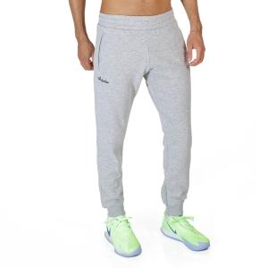 Men's Tennis Pants and Tights Australian Logo Pants  Grigio Melange SWUPA0001101