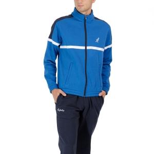 Men's Tennis Suit Australian Classic Logo Bodysuit  Blu Metilene LSUTU0130088