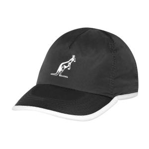 Tennis Hats and Visors Australian Logo Cap  Black TEXCA0002003