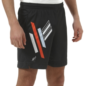 Men's Tennis Shorts Australian Roma 21 Ace 7in Shorts  Nero TEUSH0023003
