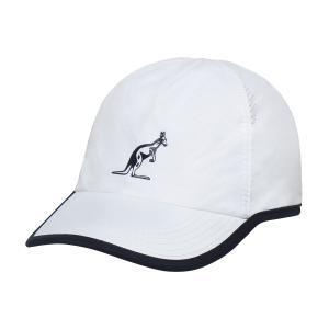 Tennis Hats and Visors Australian Roma 21 Cap  Bianco TEXCA0002002