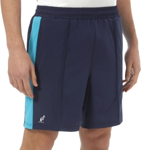 Pantaloncini Tennis Uomo Australian Slam 7.5in Pantaloncini  Cosmo Blue/Turquoise TEUSH0014842