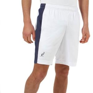 Men's Tennis Shorts Australian Slam 7.5in Shorts  Bianco/Blu TEUSH0014002