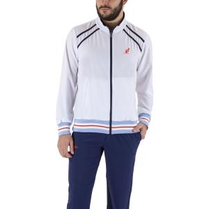 Men's Tennis Suit Australian Slam Logo Bodysuit  Bianco/Kosmo Blue LSUTU0052002