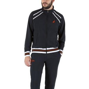Men's Tennis Suit Australian Slam Logo Bodysuit  Nero LSUTU0052003
