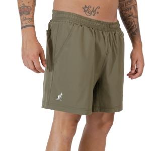 Pantalones Cortos Tenis Hombre Australian Slam 6in Shorts  Verde Aneto TEUSH0004104