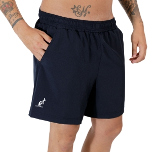 Pantalones Cortos Tenis Hombre Australian Slam 6in Shorts  Blu Navy TEUSH0004200