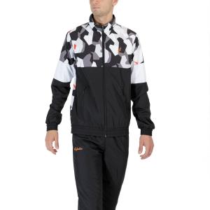 Men's Tennis Suit Australian Smash Camo Bodysuit  Nero TEUTU0004003