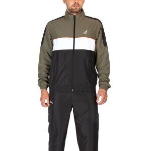 Men's Tennis Suit Australian Smash Bodysuit  Verde Aneto LSUTU0118104