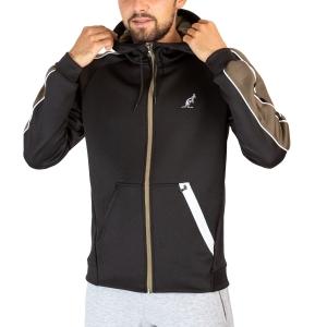 Men's Tennis Jackets Australian Volee Jacket  Nero TEUGC0003003