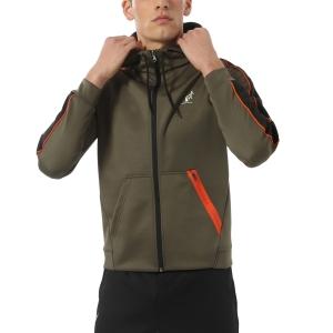 Men's Tennis Jackets Australian Volee Jacket  Verde Aneto TEUGC0003104