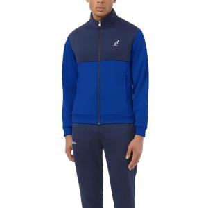 Men's Tennis Suit Australian Volee Bodysuit  Blu Capri LSUTU0119626