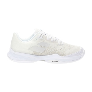 Men`s Tennis Shoes Babolat Jet Mach 3 All Court  White/Silver 30S216291019