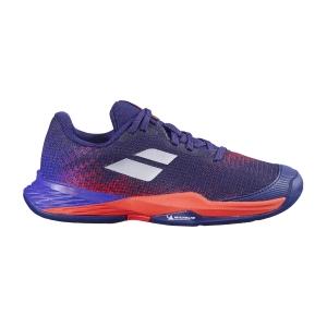 Scarpe Tennis Junior Babolat Jet Mach 3 All Court Bambino  Blue Ribbon 33F216484093