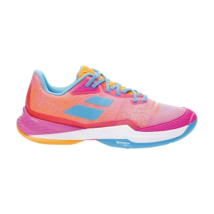 Women`s Tennis Shoes Babolat Jet Mach 3 Clay  Hot Pink 31S216855052