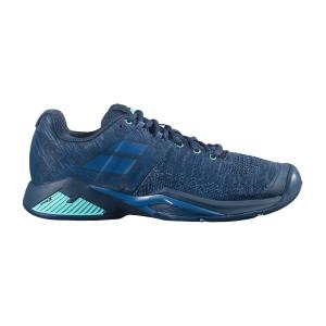 Scarpe Tennis Uomo Babolat Propulse Blast All Court  Dark Blue/Viridian Green 30F214424090