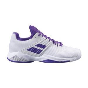 Scarpe Tennis Donna Babolat Propulse Fury All Court  White/Purple 31F214771046