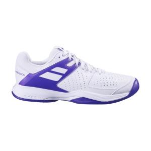 Scarpe Tennis Donna Babolat Pulsion All Court Wimbledon  White/Purple 31S205581046
