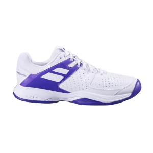 Scarpe Tennis Uomo Babolat Pulsion All Court Wimbledon  White/Purple 30S205511046