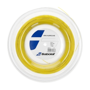 Corda Monofilamento Babolat RPM Hurricane 1.30 Matassa 200 m  Yellow 243141113130