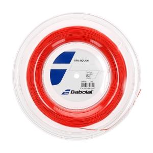 Cordaje Monofilamento Babolat RPM Rough 1.25 Bobina 200 m  Red Fluo 243140201125