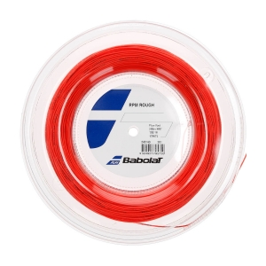 Corda Monofilamento Babolat RPM Rough 1.30 Matassa 200 m  Red Fluo 243140201130