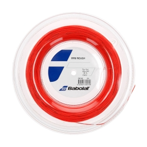 Corda Monofilamento Babolat RPM Rough 1.35 Matassa 200 m  Red Fluo 243140201135